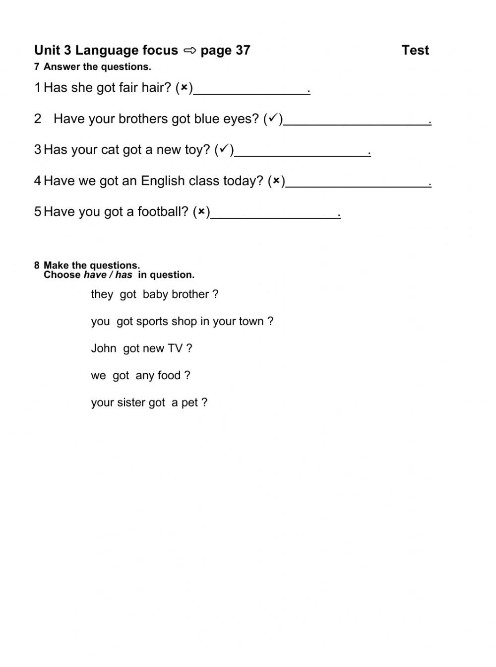 Possessive Pronouns Worksheet 5th Grade Kinds Of Pronouns Worksheets with Answers Possessive