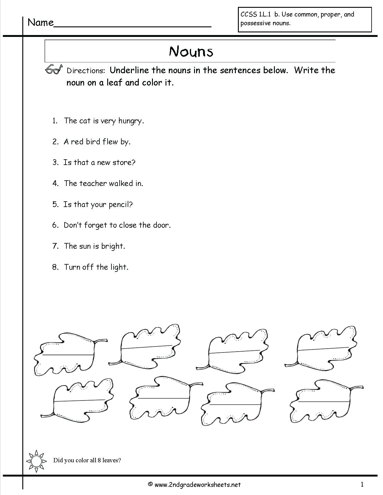 Possessive Pronouns Worksheet 5th Grade Nouns and Pronouns Worksheets Pronoun Worksheet 3 Relative