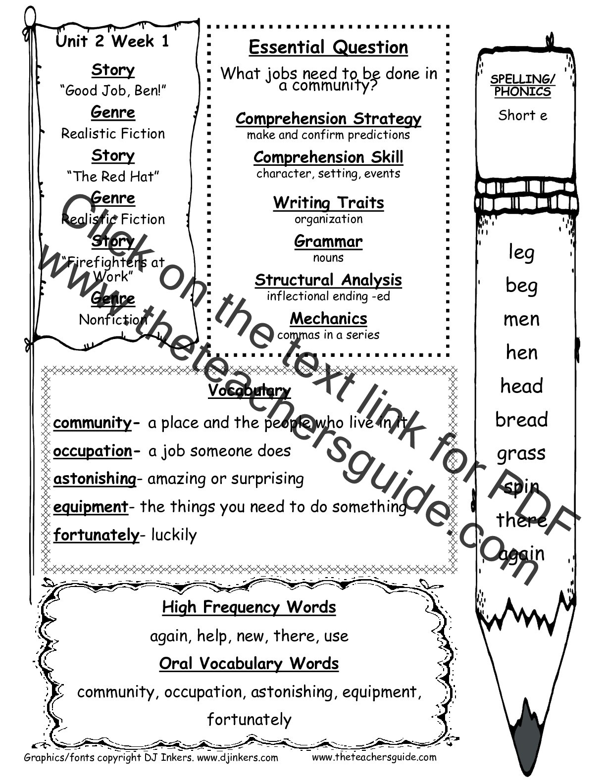 Predictions Worksheets 1st Grade Mcgraw Hill Wonders First Grade Resources and Printouts