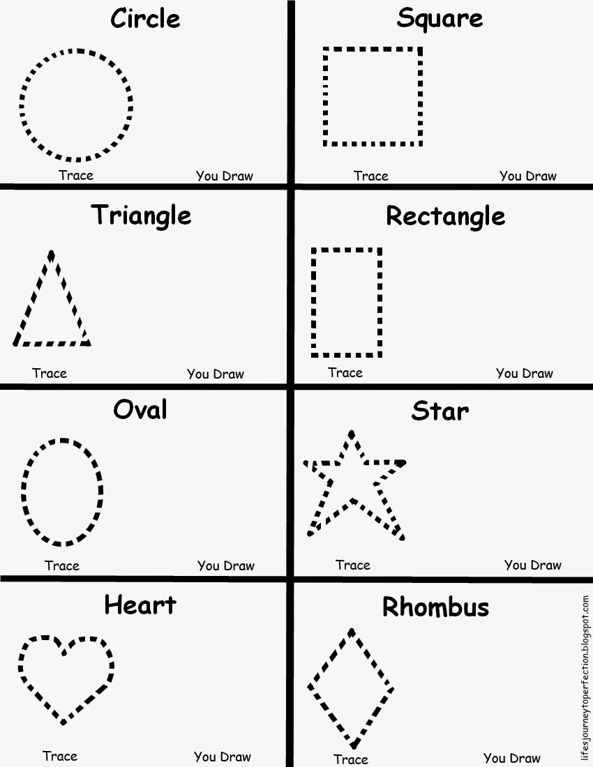Preschool Diamond Shape Worksheets Preschool Shapes Worksheet
