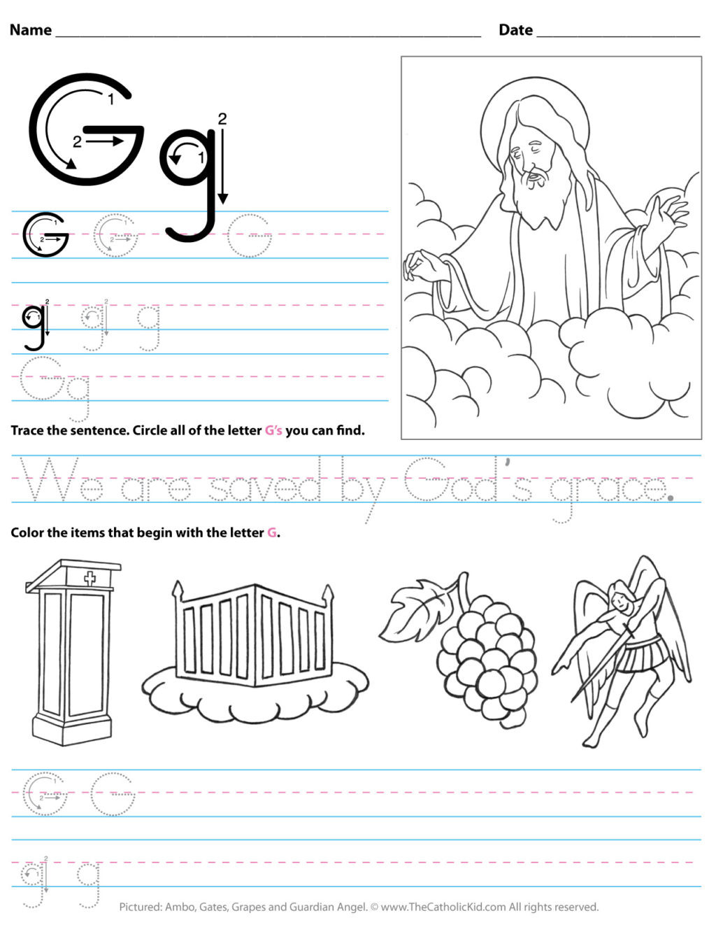 Preschool Letter G Worksheets Worksheet Working Sheets forlers Image Inspirations
