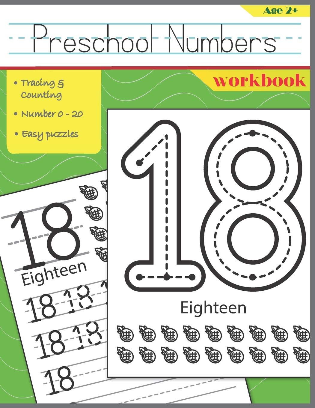 Preschool Number Tracing Preschool Numbers Workbook Handwriting Numbers & Easy