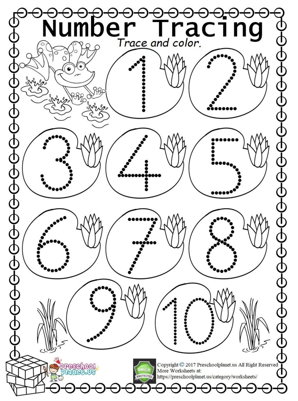 Preschool Number Tracing Worksheet Worksheet Stunning Tracin S for Kindergarten