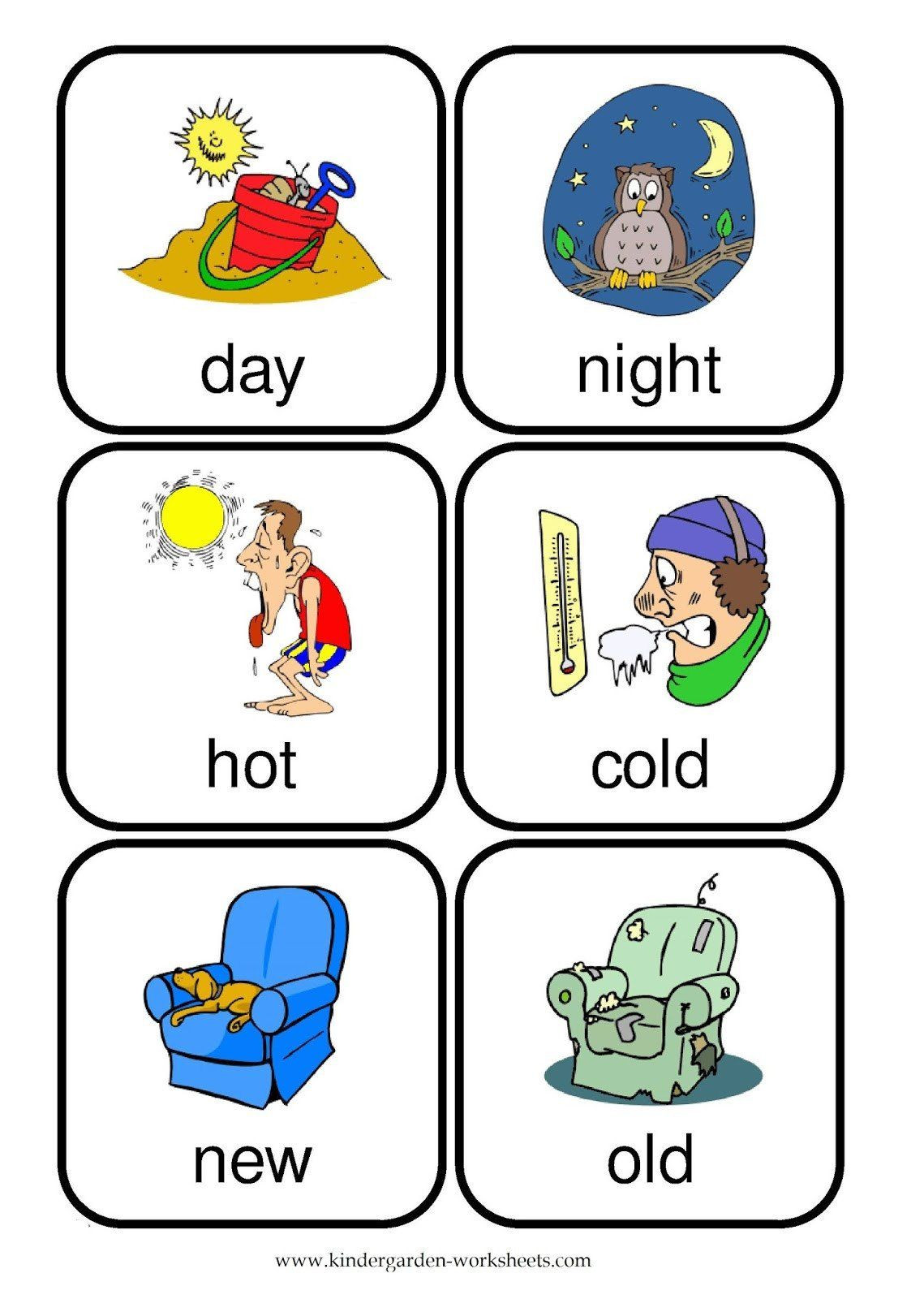Preschool Opposite Worksheet Pin On Printable Worksheet for Kindergarten