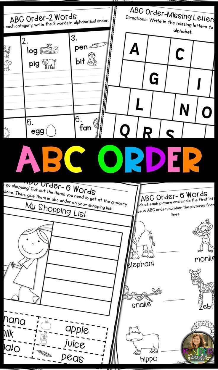 Printable Abc order Worksheets Distance Learning Abc order Worksheets Alphabetical order