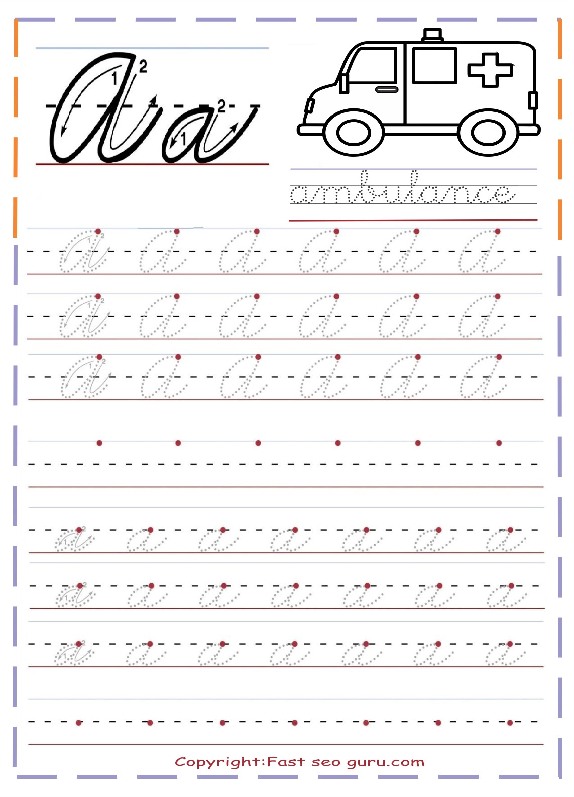 Printable Cursive Writing Worksheets Pdf Cursive Handwriting Alphabet Worksheets