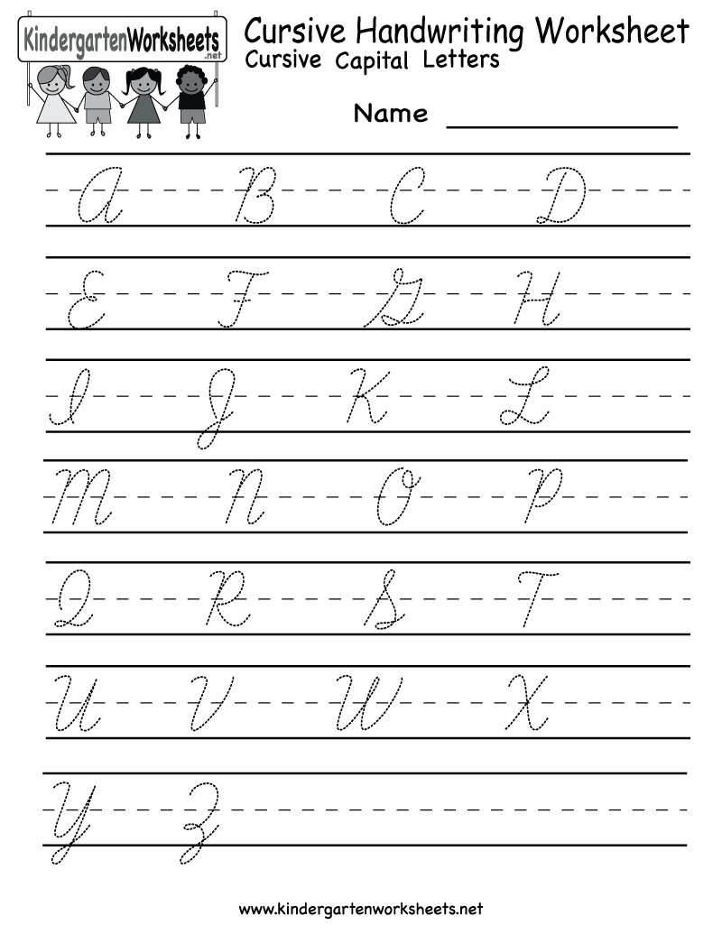 Printable Cursive Writing Worksheets Pdf Free Printable Worksheets for Lkg Cursive Writing Kids Pdf