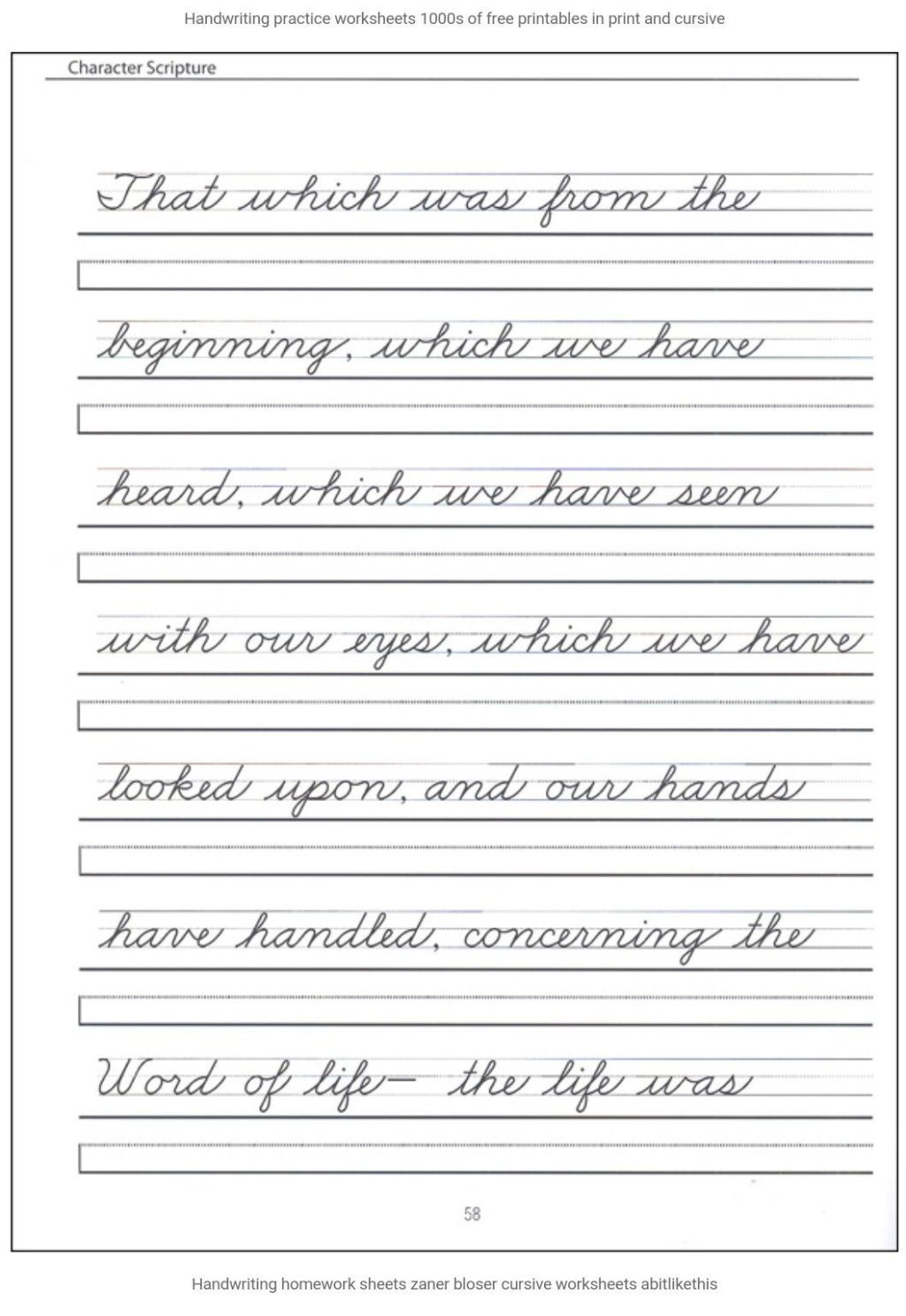 Printable Cursive Writing Worksheets Pdf Worksheet Worksheet Pin by Hajar Alphabet Worksheets
