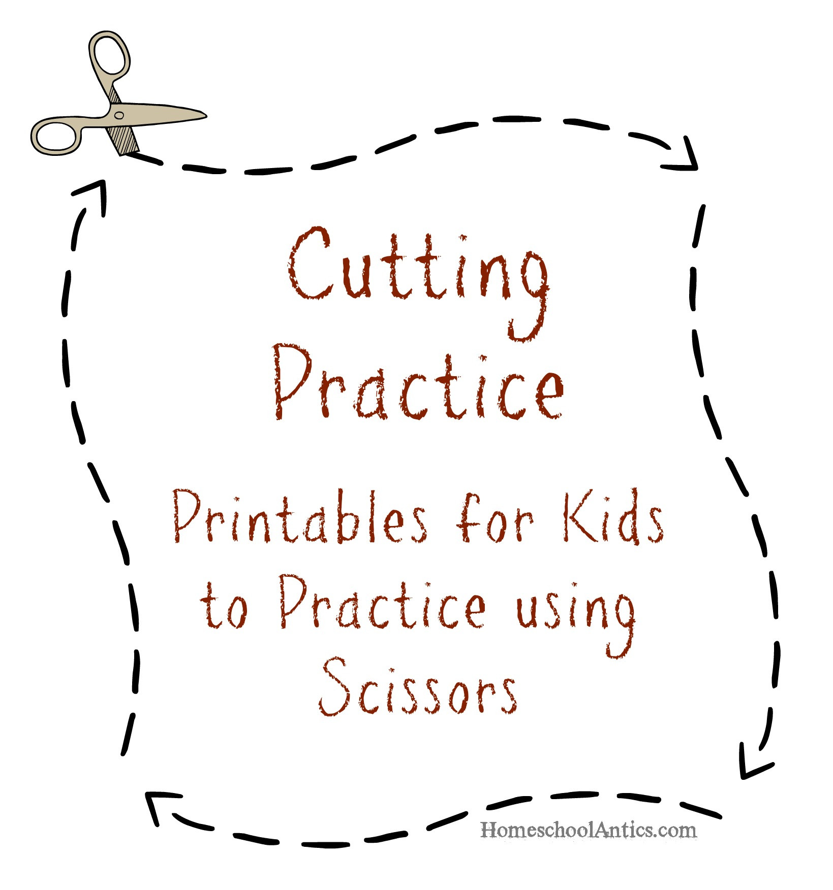 Printable Cutting Worksheets for Preschoolers Cutting Practice Printables