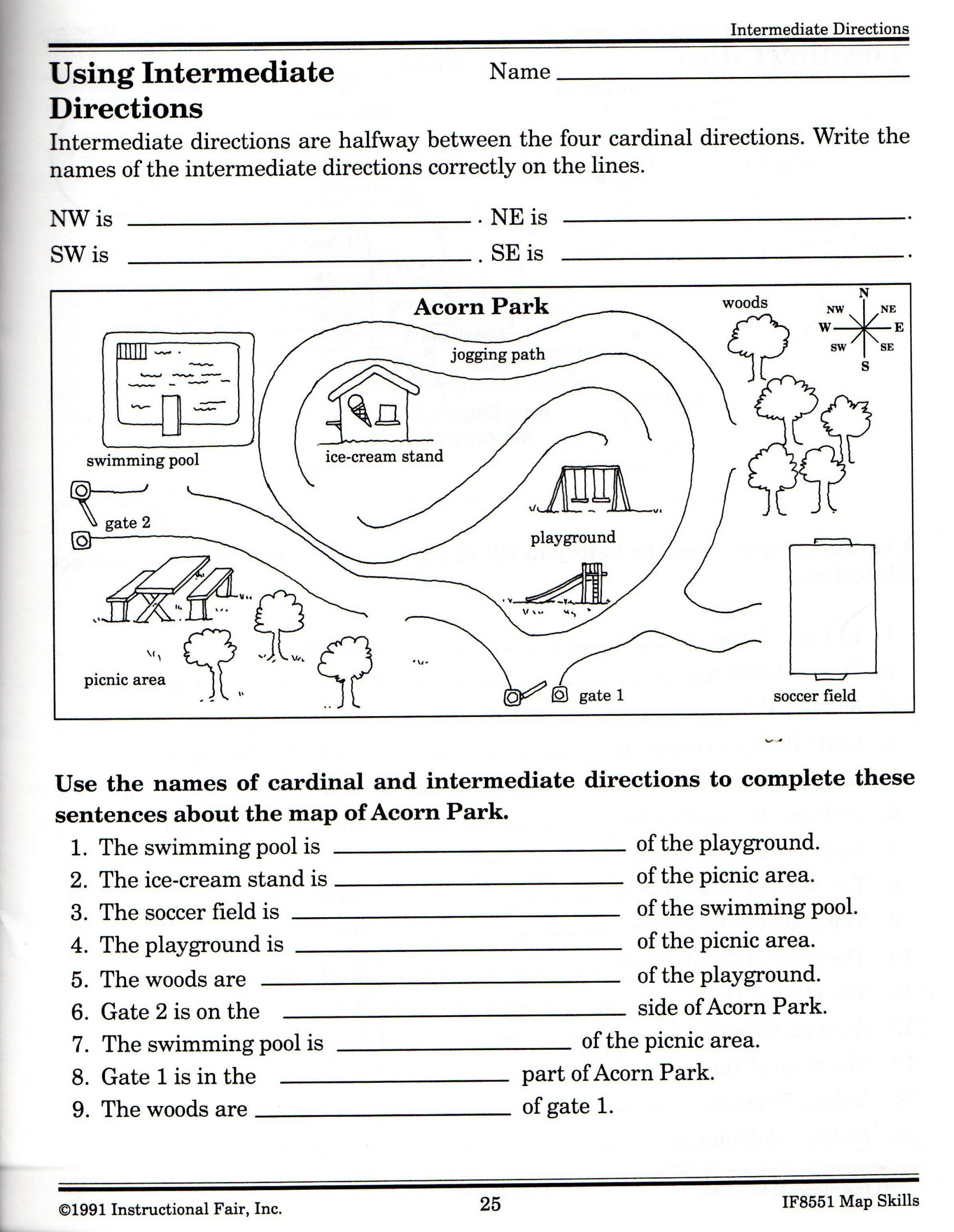 Printable Following Directions Worksheets 21 Awesome Following Directions Worksheet for You