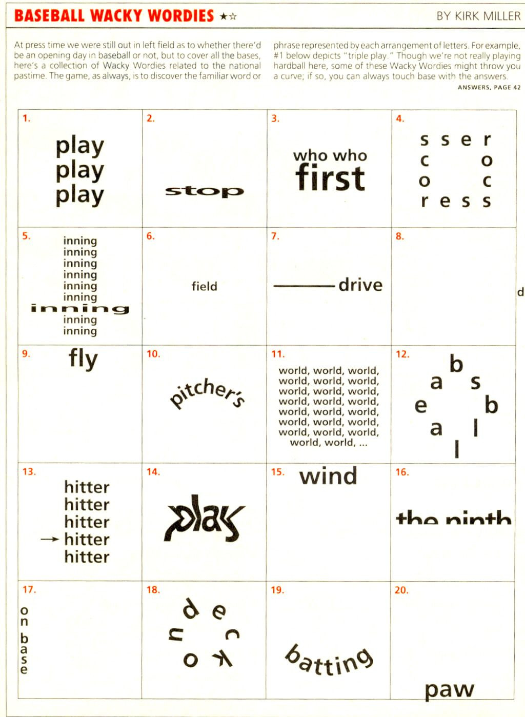 Printable Rebus Puzzles for Kids Pin On Word Games