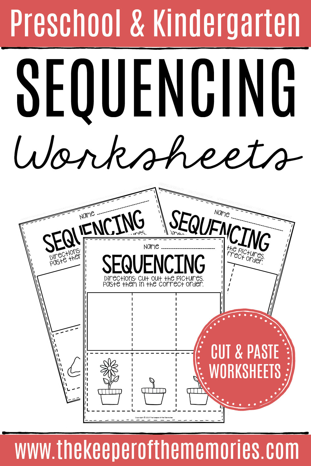 Printable Sequencing Worksheets 3 Step Sequencing Worksheets the Keeper Of the Memories