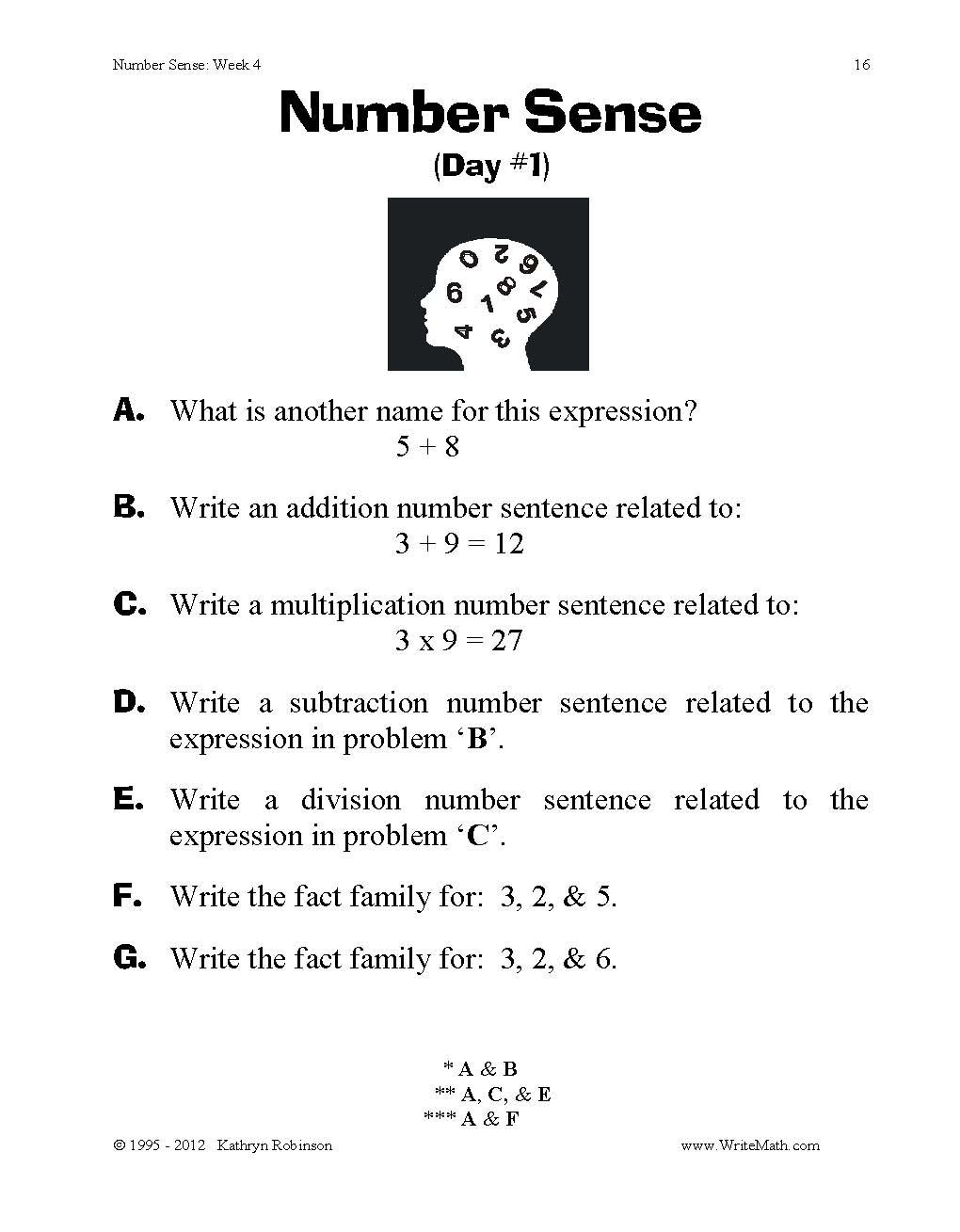 Probability Worksheet 4th Grade Math Kg2 Train Timetable Worksheets Number Sense Worksheets