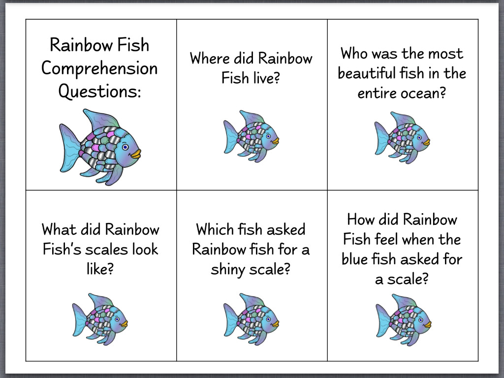 Rainbow Fish Printable Worksheets Printable Adhd Worksheet Fish