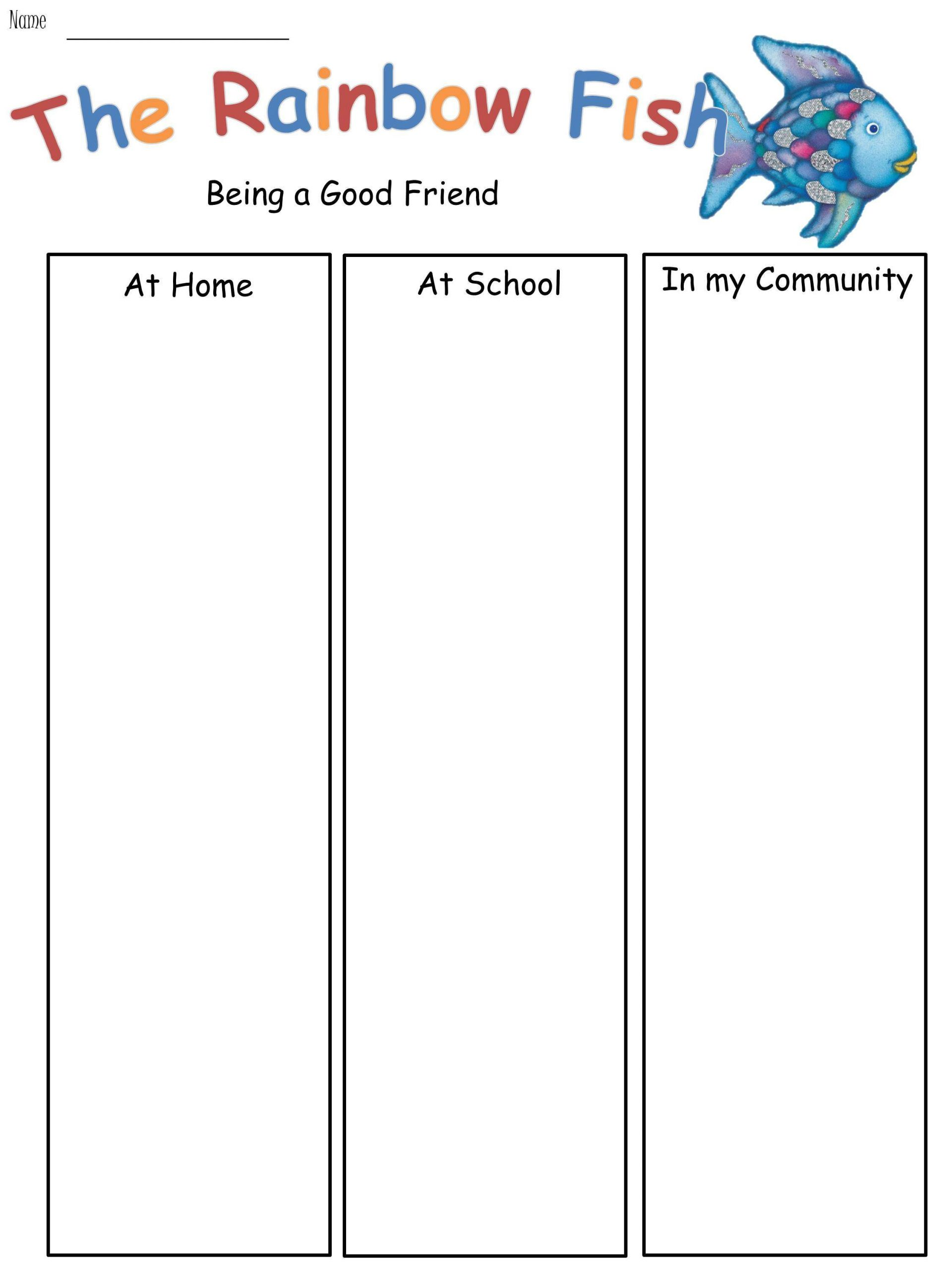 Rainbow Fish Printable Worksheets the Rainbow Fish Lesson Pack Animated Interactive Powerpoint & 11 Supporting Worksheets