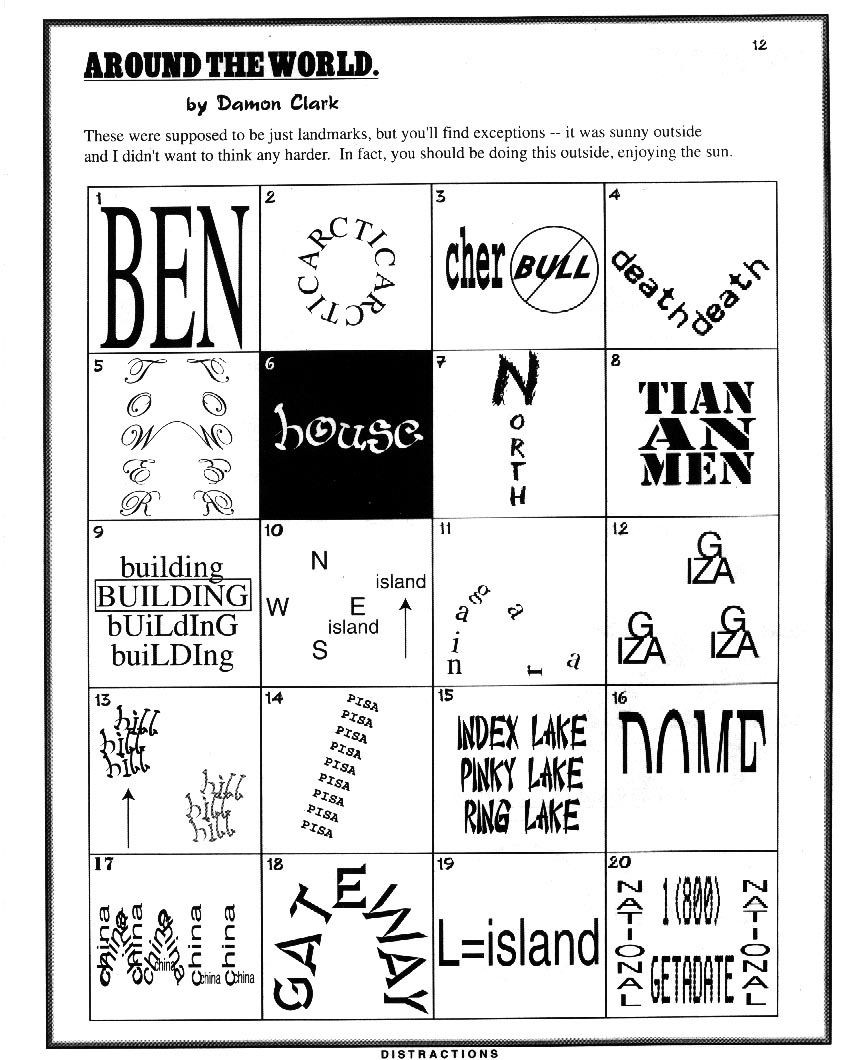 Rebus Puzzles for Middle School Link No Longer Works History Geography Word Puzzles
