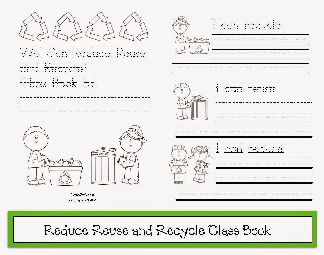 Recycle Worksheets for Preschoolers Reduce Reuse Recycle Worksheet