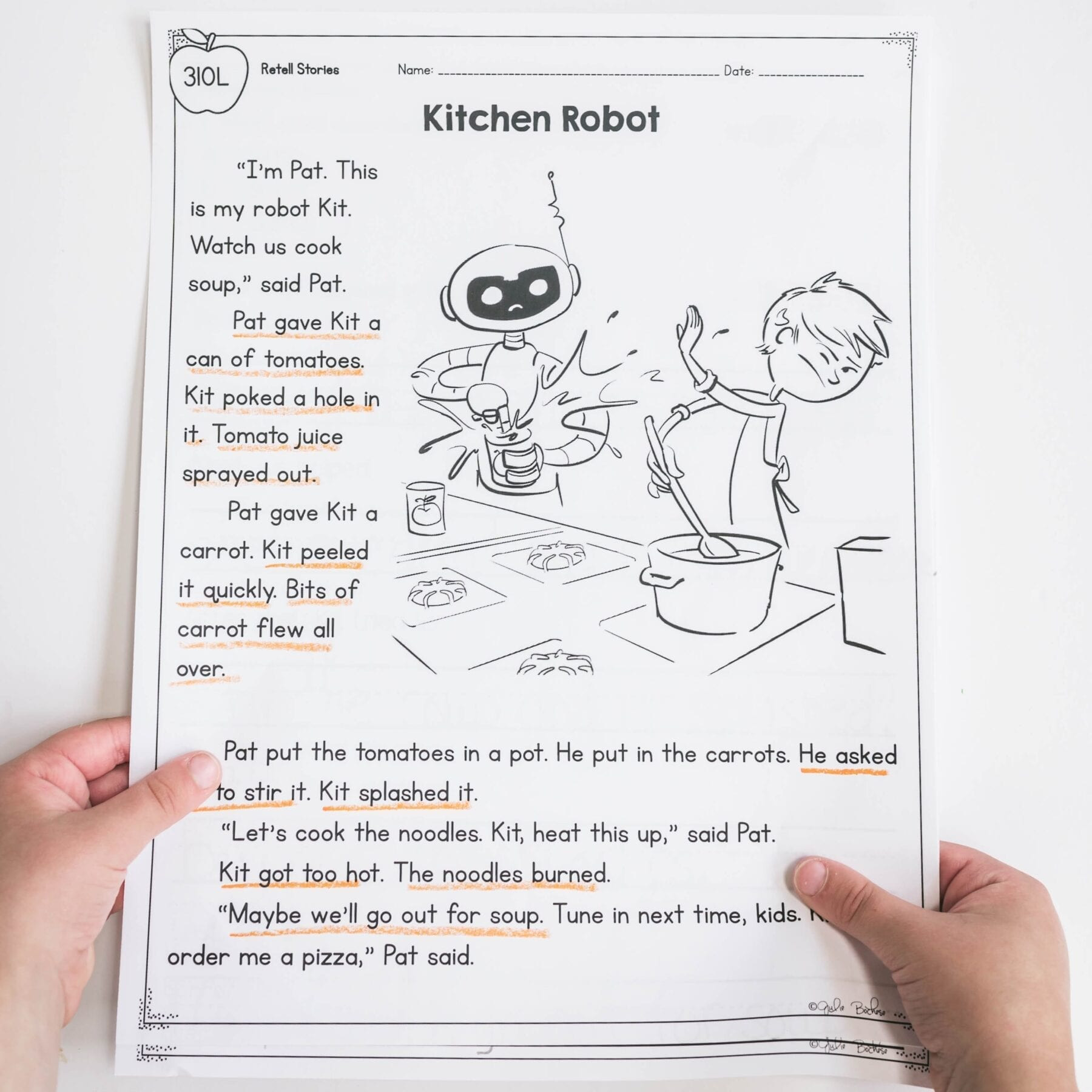 Retell Worksheet First Grade Retell Stories – 1st Grade Rl 1 2 Printable & Digital Google Slides Distance Learning Pack