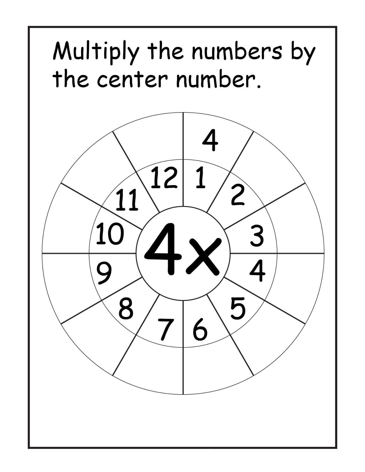 Saxon Math 6th Grade Worksheets Multiplication Worksheets Times Tables Speed Test Printable