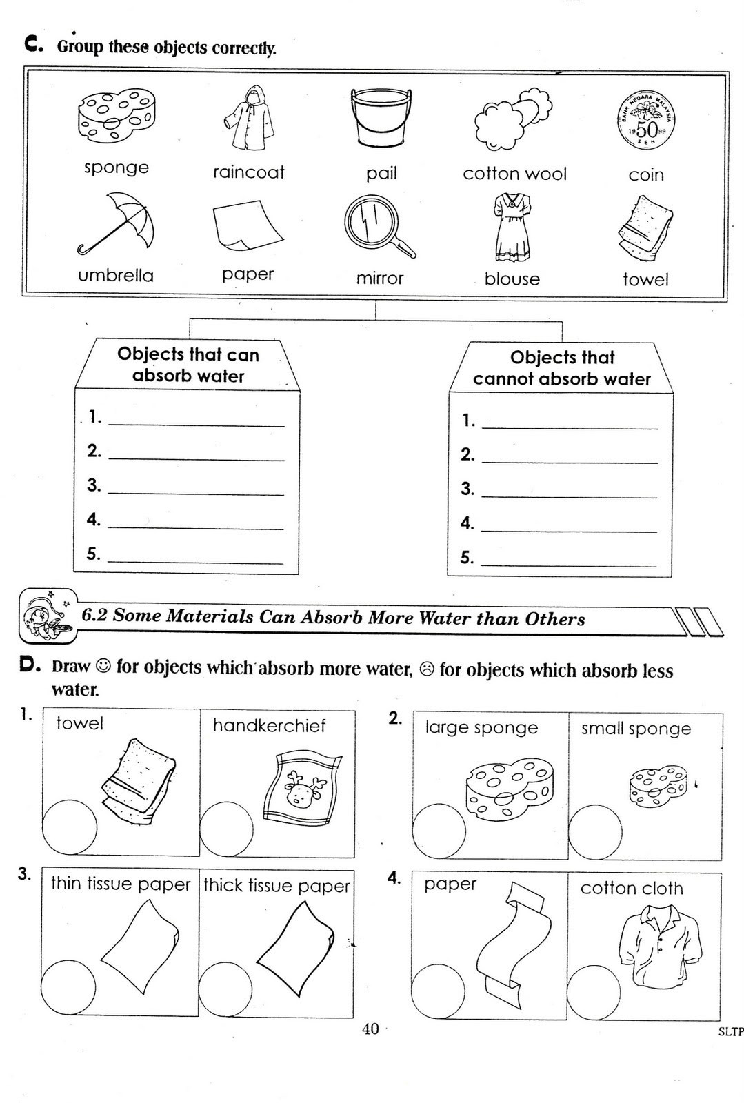 Science Worksheets for 5th Grade 5th Science Worksheets Printable and Activities for Free