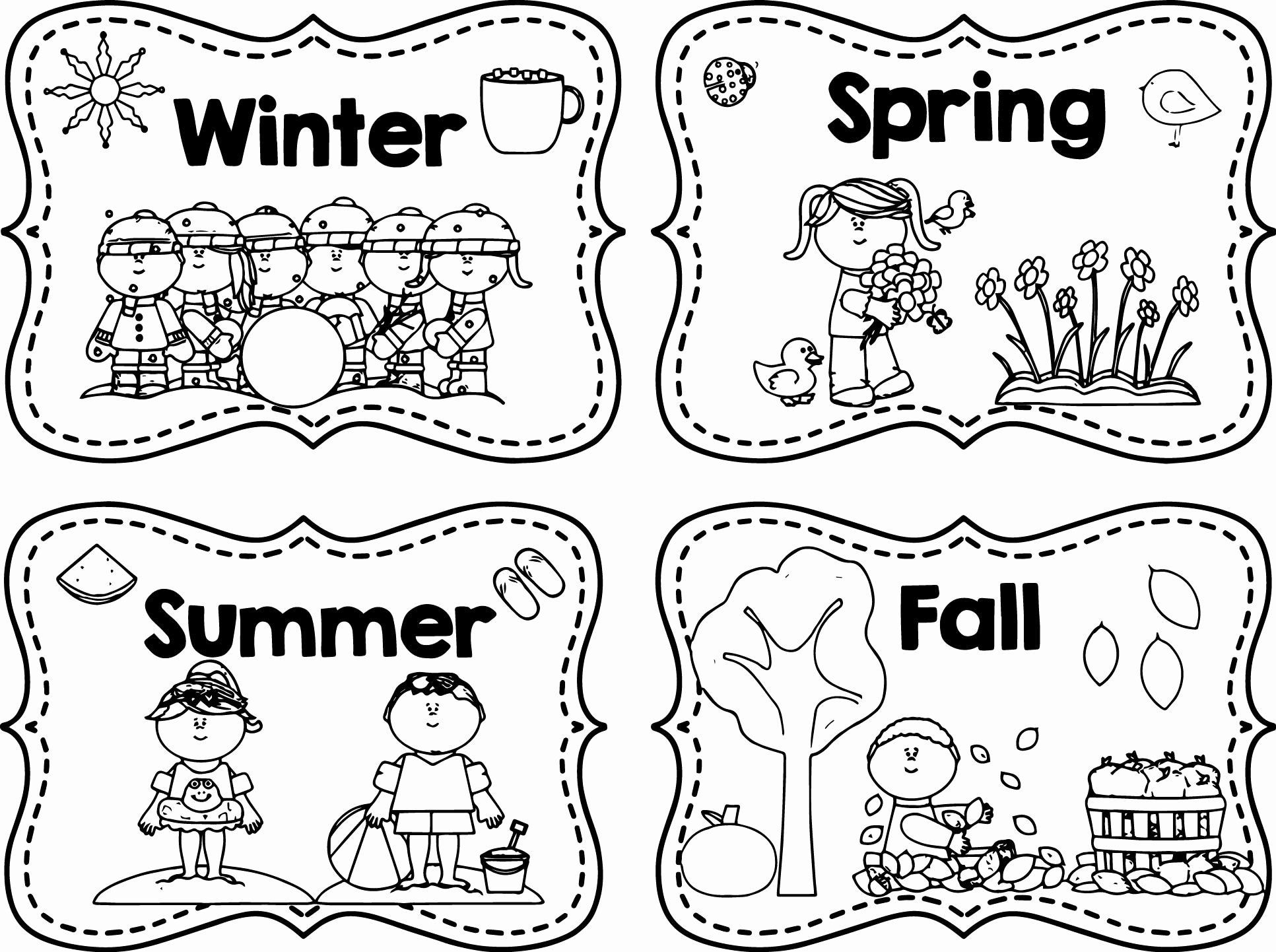 Seasons Worksheets for Preschoolers Coloring Winter Activities Preschool Beautiful Worksheets