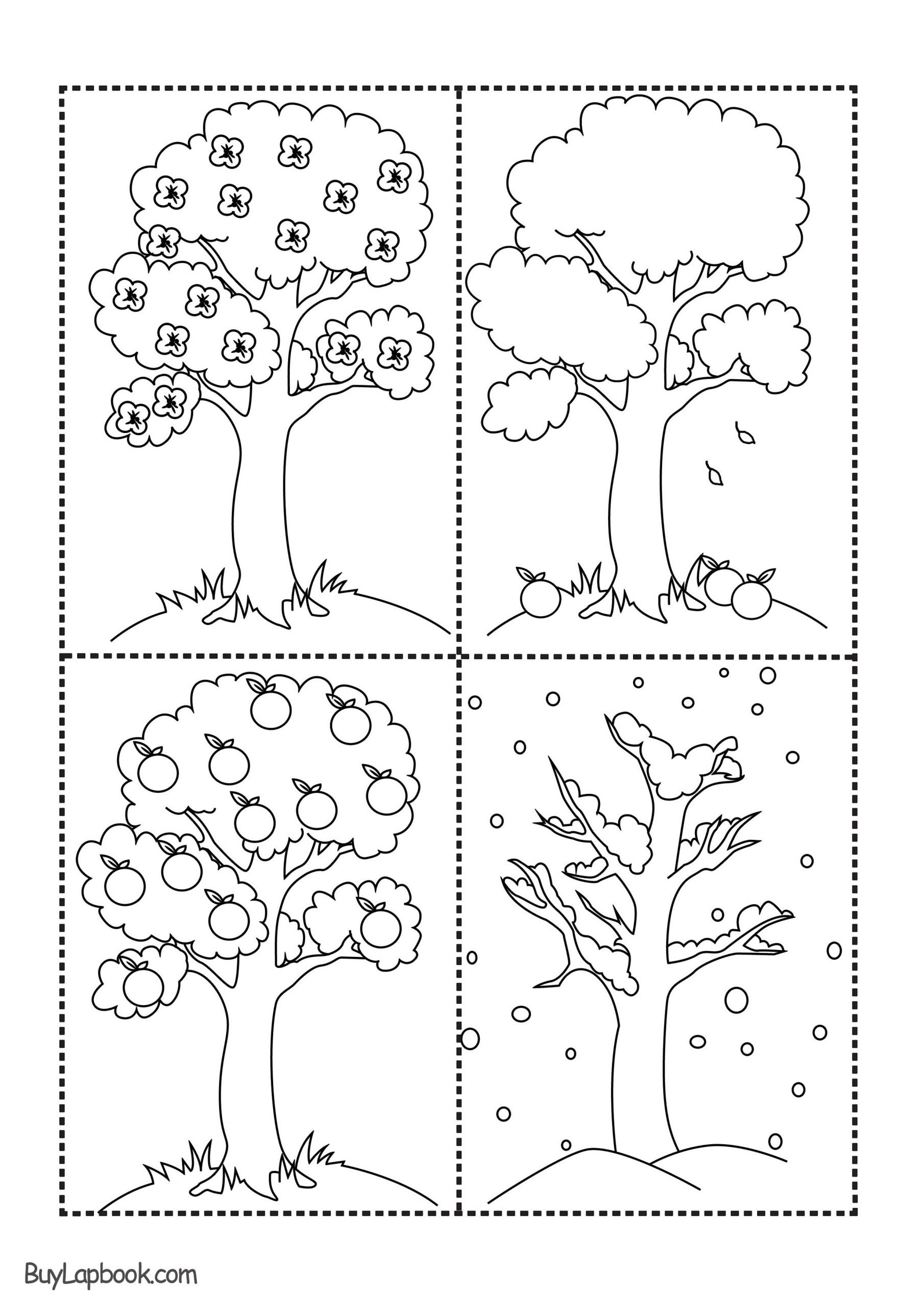 Seasons Worksheets for Preschoolers Worksheet From Home