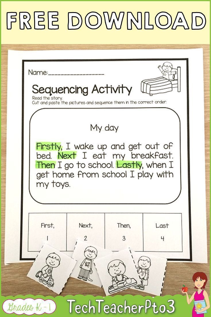 """Sequencing events Worksheets Grade 6 Pin On """"teachers Pay Teachers Best Of """""""