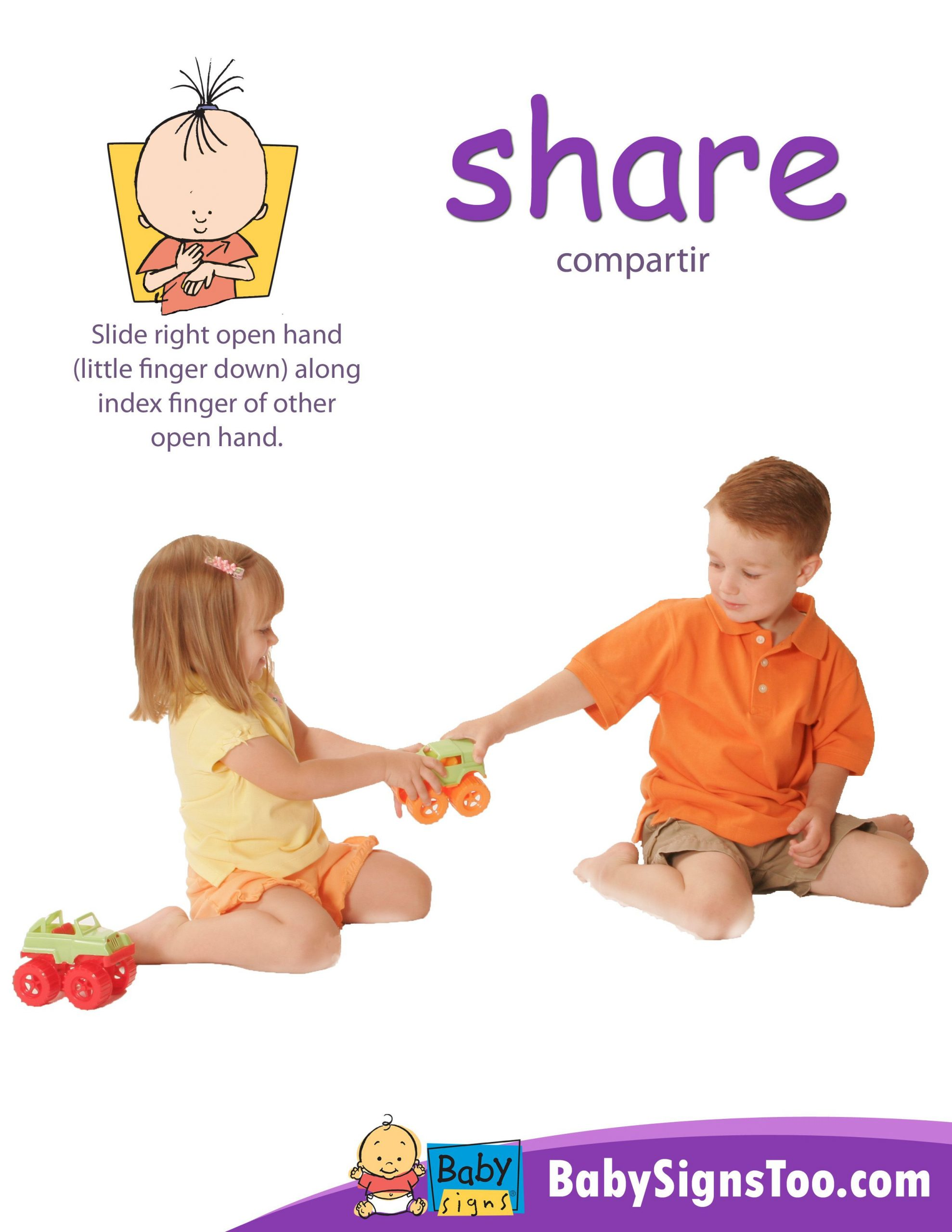 Sign Language Poster Printable Baby Signs Poster Share