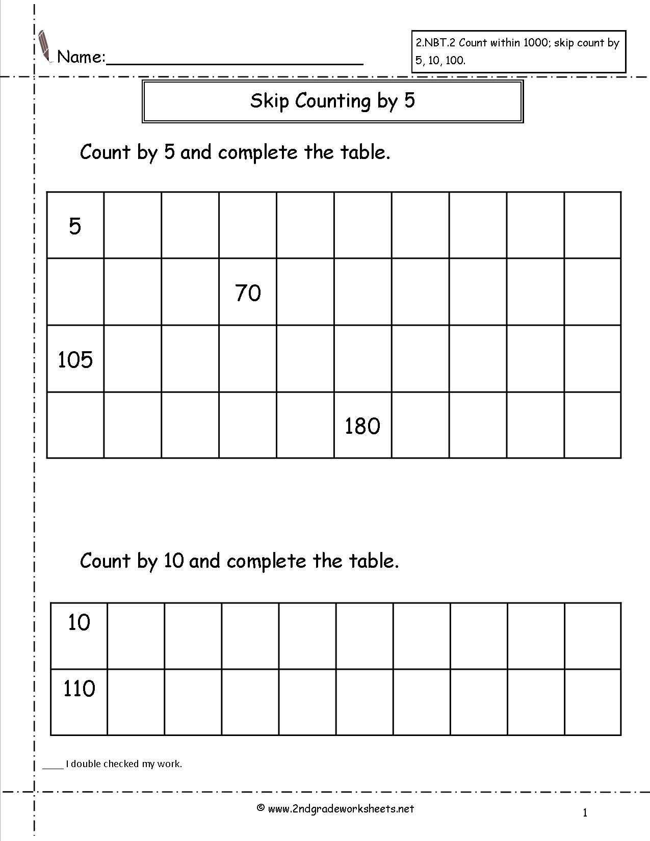 Skip Counting Worksheets First Grade Pre Kindergarten Games Equal Triangles Worksheets Skip