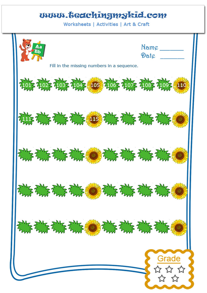Skip Counting Worksheets First Grade Skip Counting by 5 Archives Teaching My Kid