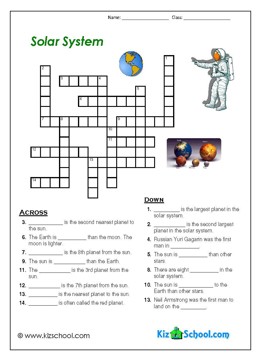 Solar System Worksheets 5th Grade 8th Grade solar System Worksheets