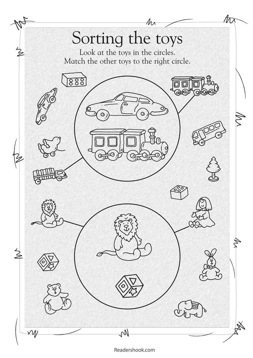 Sorting Shapes Worksheets First Grade sorting Activities to Engage Kids In Learning