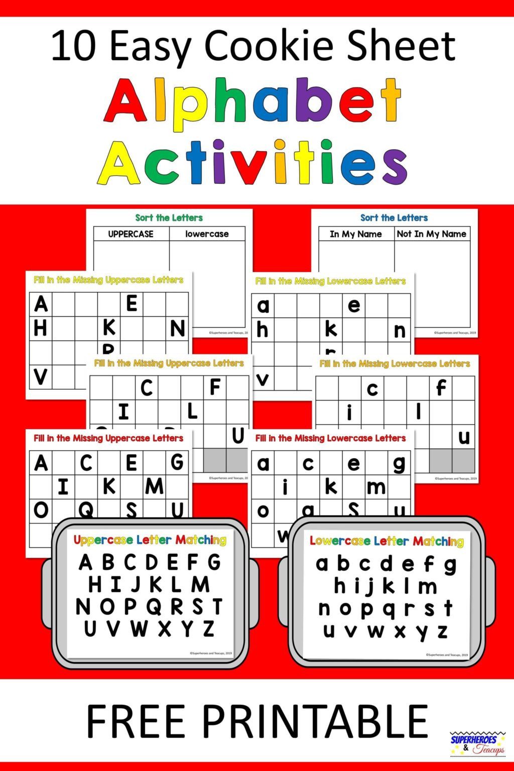 Spanish Alphabet Chart Printable Worksheet Alphabet Sheets Freentable for Preschoolers tont