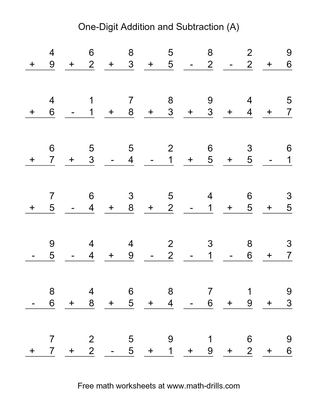 Subtraction Worksheet 1st Grade Math Worksheet 57 astonishing Math Printable Worksheets