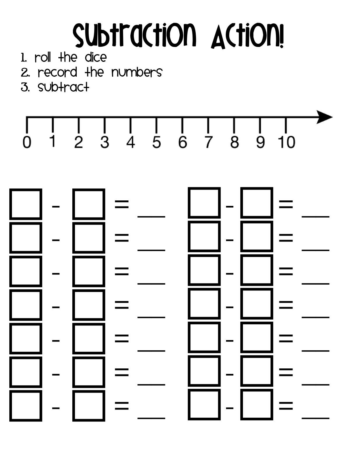 Subtraction Worksheet 1st Grade Worksheet Free Math Coloring Worksheets 1st Grade Blends