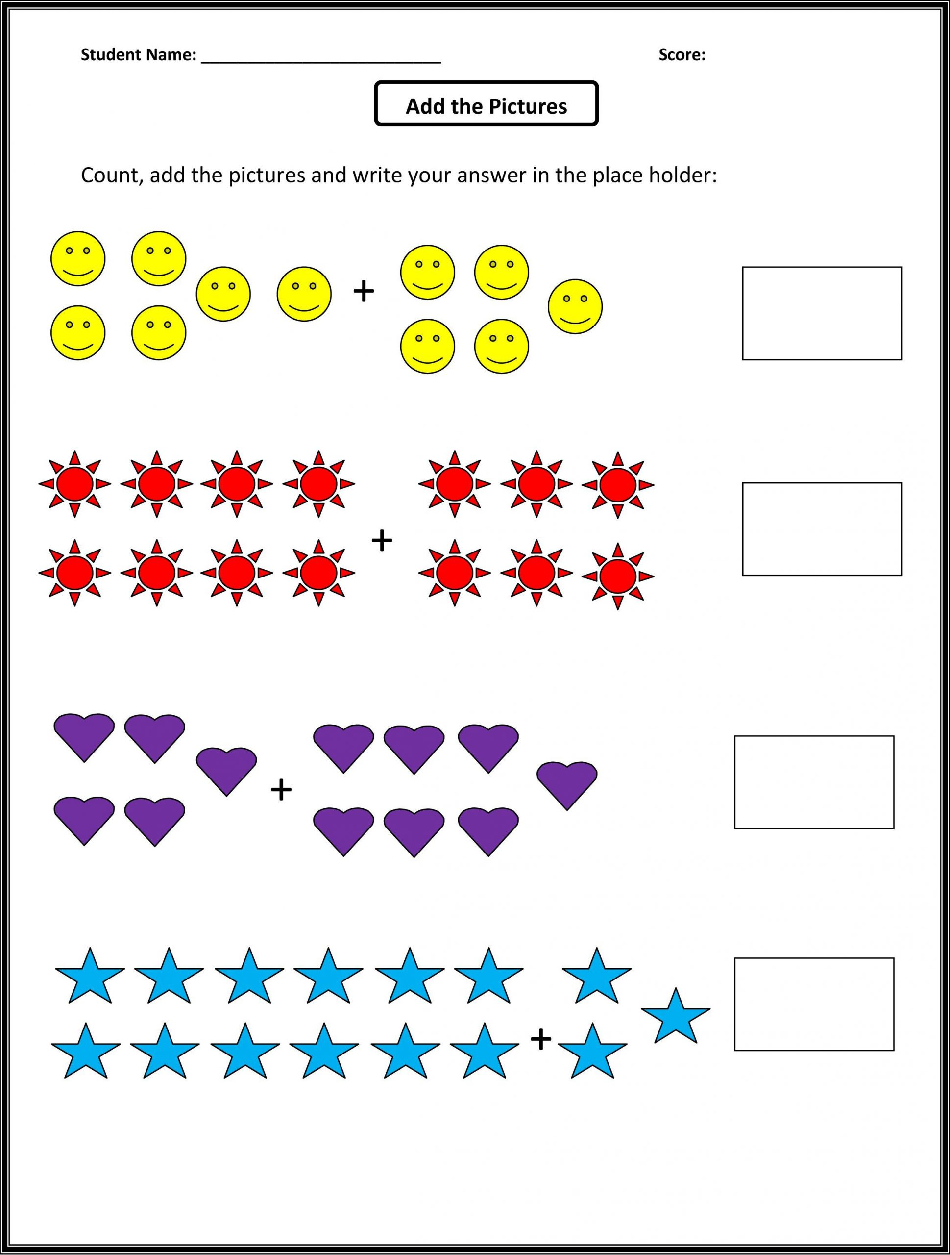 Subtraction Worksheets 1st Grade 1st Grade Math Worksheets Best Coloring Pages for Kids