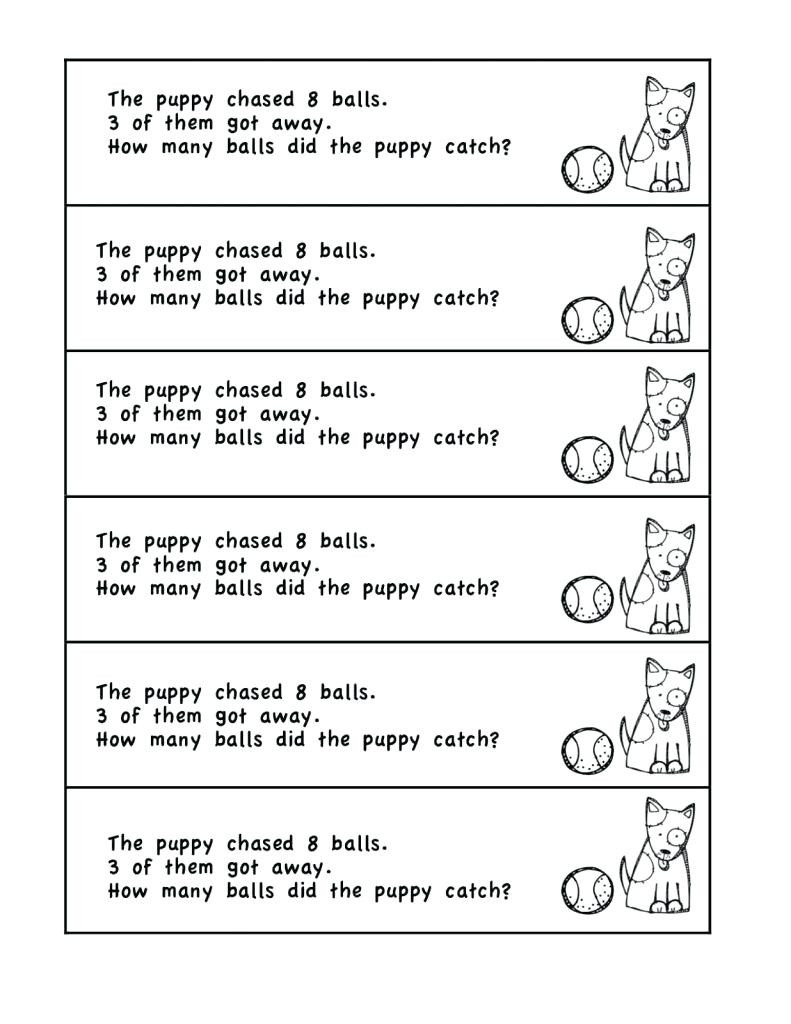 Subtraction Worksheets 1st Grade Word Problems Worksheets 1st Grade Grade Math Problems for