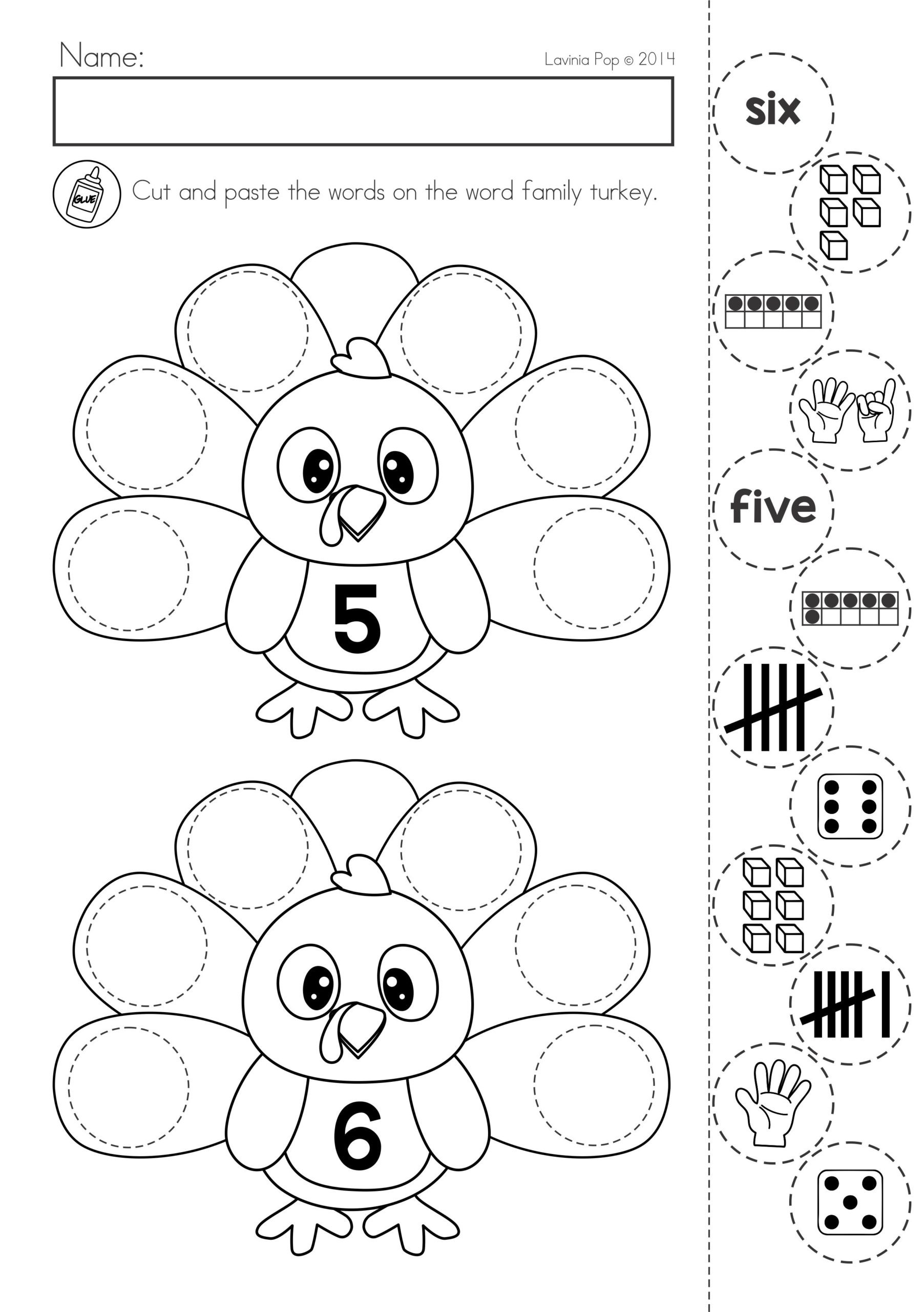 Thanksgiving Math Worksheets Middle School Thanksgiving Math Literacy Worksheets and Activities Word