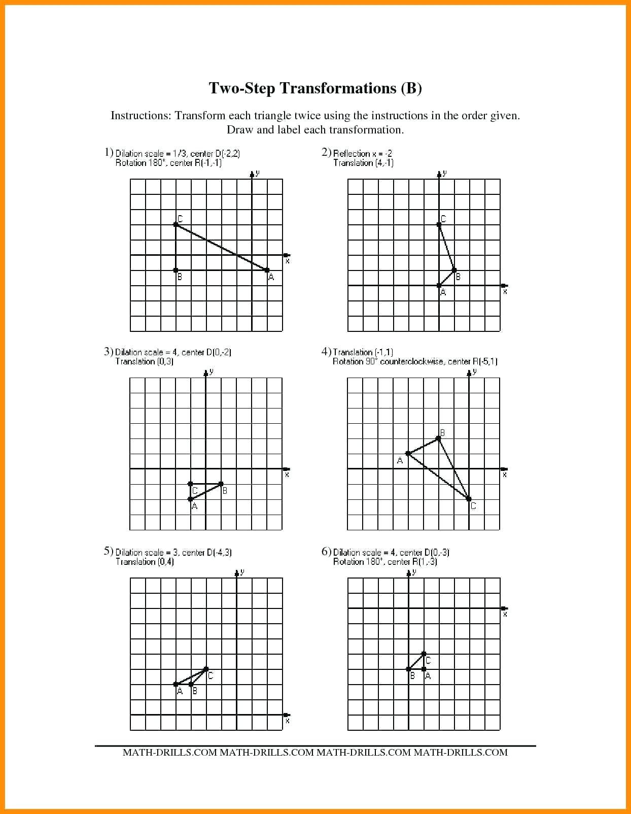Translations Math Worksheets 3 Free Math Worksheets Third Grade 3 Subtraction Subtract