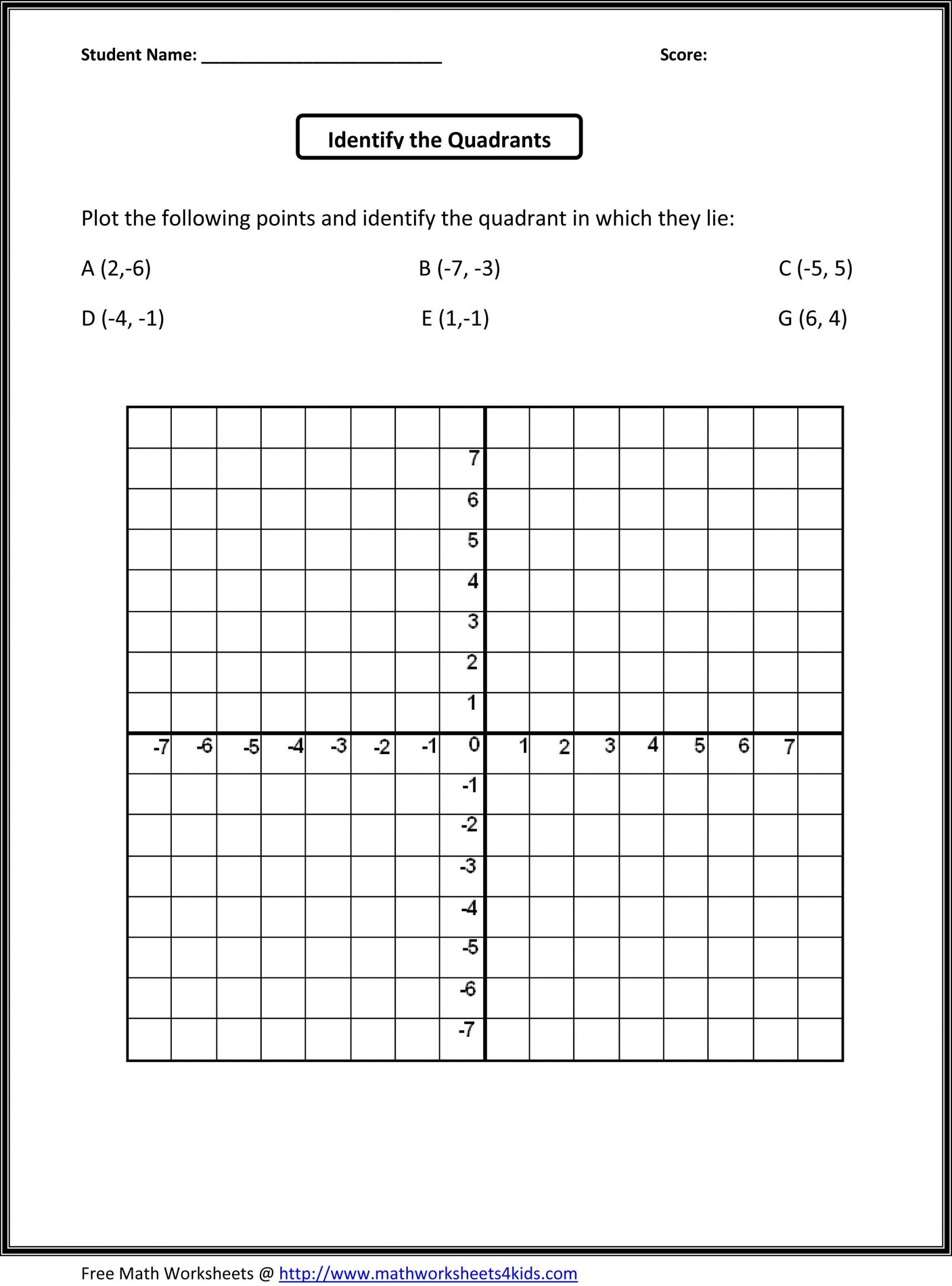 Variables Worksheets 5th Grade 5th Grade Worksheets Pdf