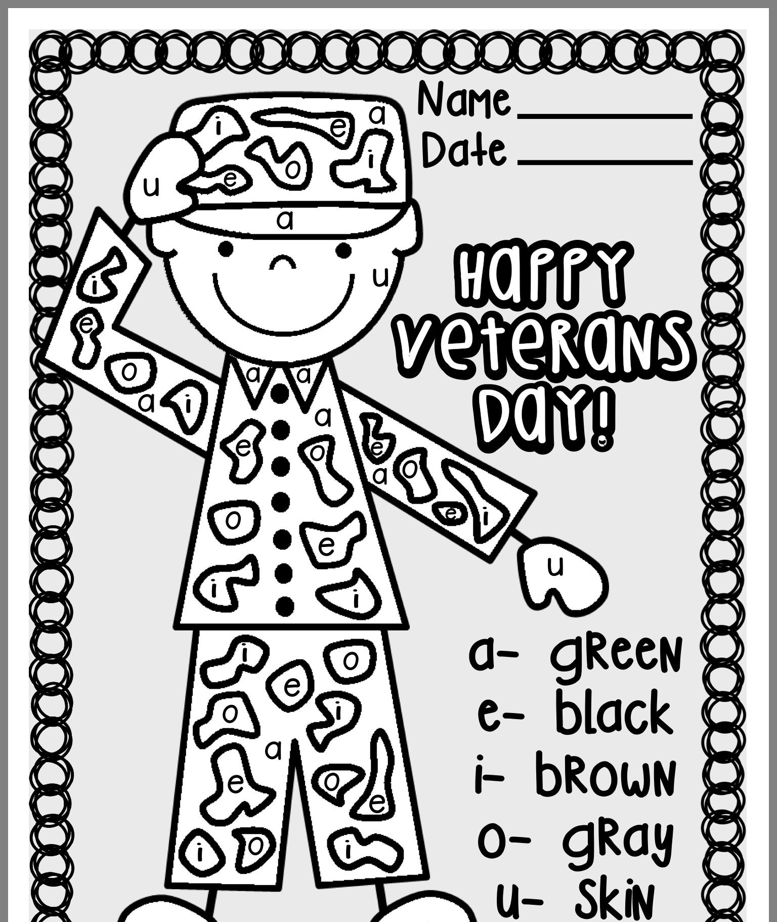 Veterans Day Math Worksheets Kindergarten Graduation Poems Free Math Coloring Worksheets