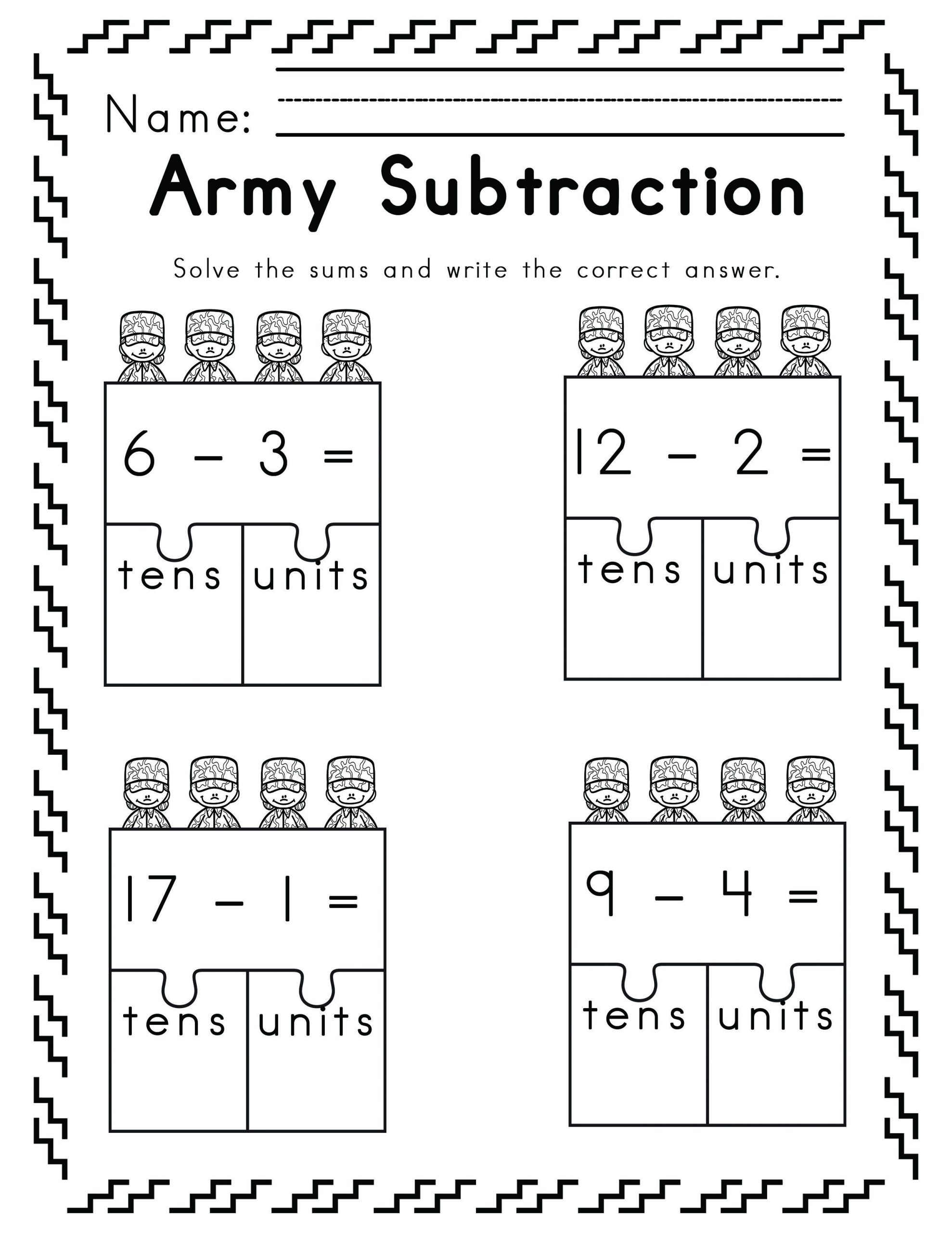 Veterans Day Math Worksheets Worksheets for Veteran Remembrance Day Ela Literacy and Math