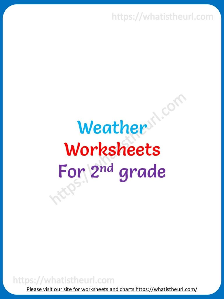 Weather Worksheets for 2nd Graders Weather Worksheets for Grade 2 Your Home Teacher