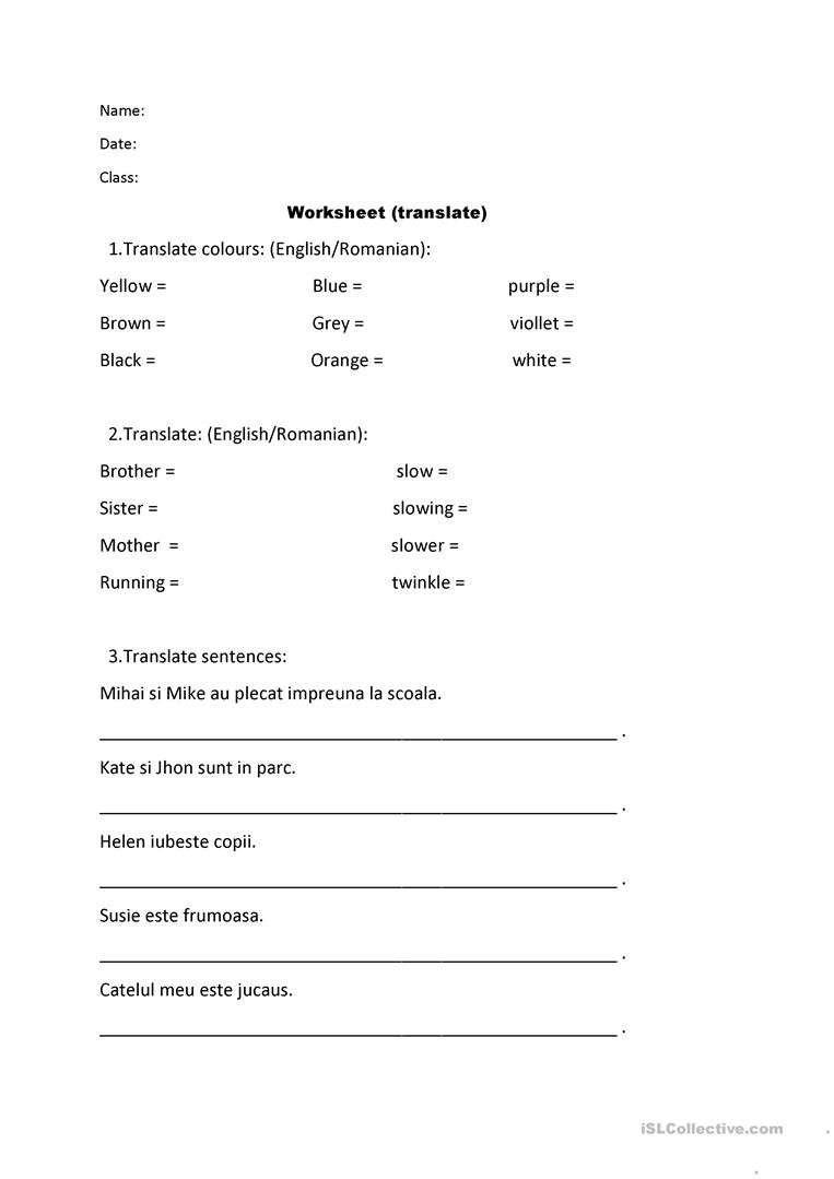 Word form Worksheets 4th Grade Worksheet or Test Paper Grade 4th Grade 3th English Esl