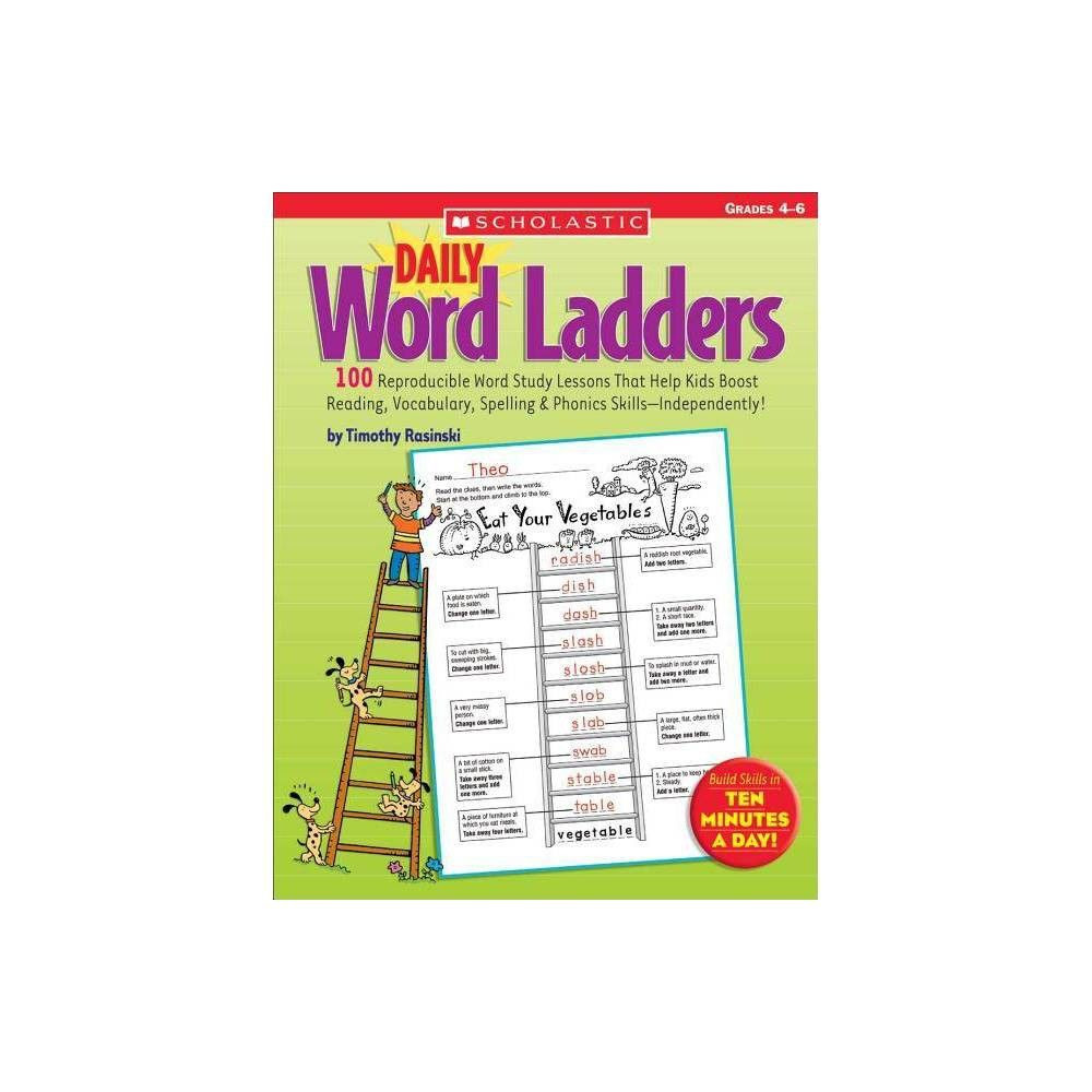 Word Ladders Middle School Daily Word Ladders Grades 4 6 by Timothy Rasinski