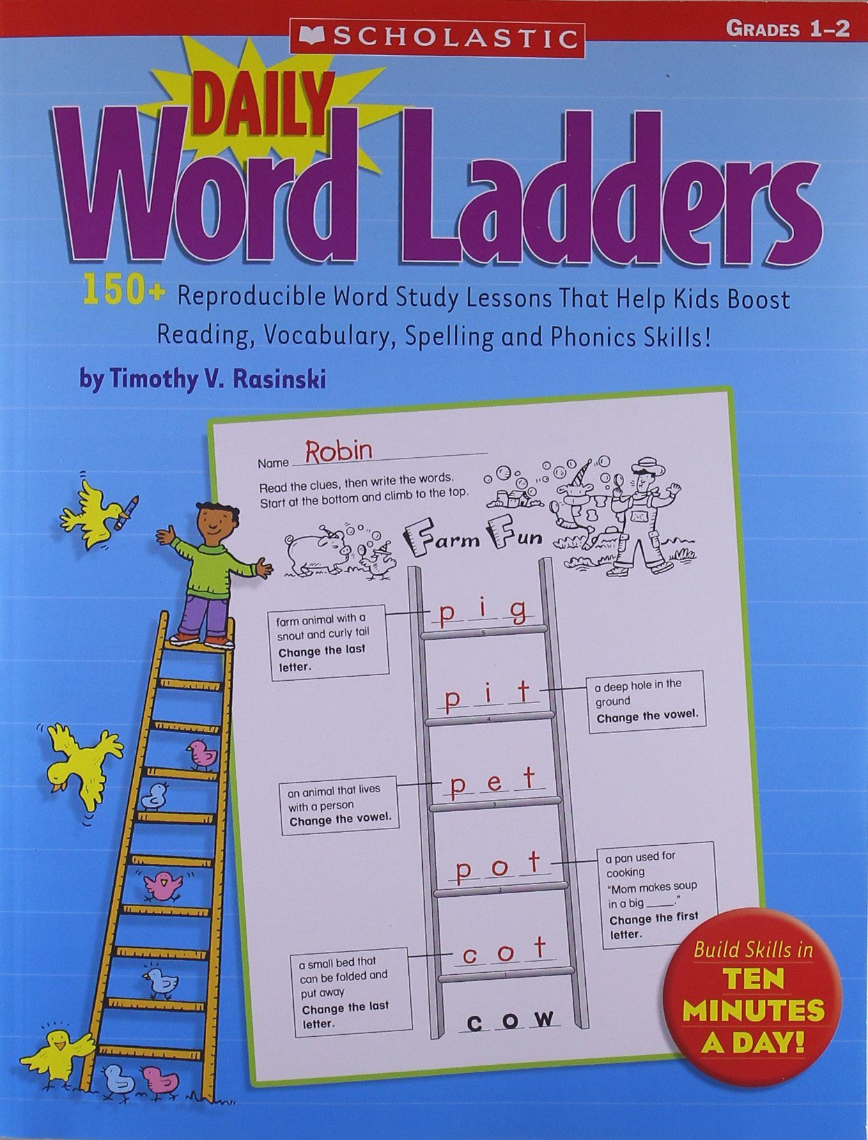 Word Ladders Middle School Word Ladder Worksheet