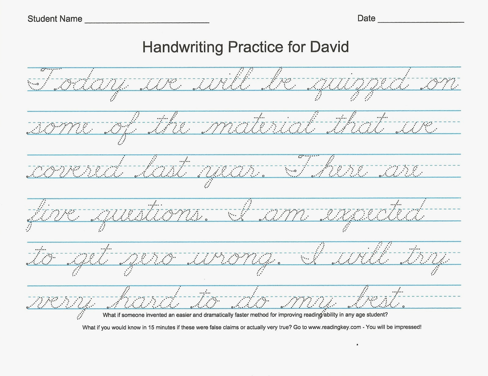 Writing Worksheets 4th Grade Cursive Writing Worksheets 4th Grade