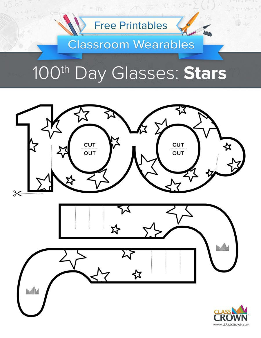 100 Days Of School Worksheet Celebrate Your 100th Day with these Fun 100th Day Of School