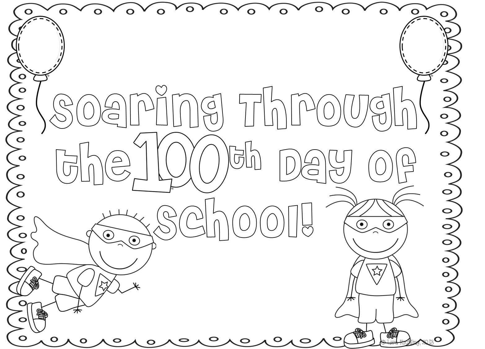 100 Days Of School Worksheet Coloring 378b65d6d11beb E59c5fd5b3263 100 Days