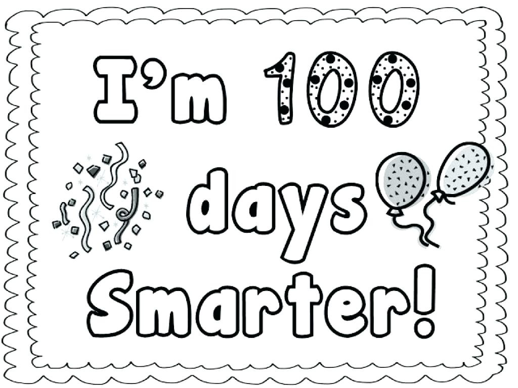 100 Days Of School Worksheet Days School Printables Crafts Printouts Printable